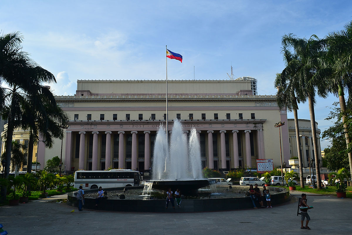 Manila central post office wikipedia for Architecture poste a poste