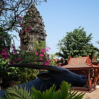 Photo: Wat Ounalom, Phnom Penh, Cambodge