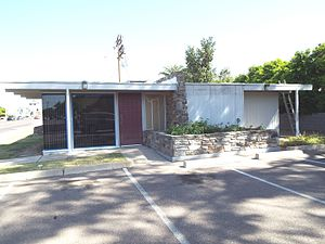 Phoenix Historic Property Register - The Conn and Candlin CPA Office, built in 1962, is located in the Willo Historic District.