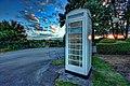 Phone box, Skidby - panoramio.jpg