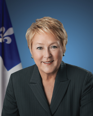 Quebec general election, 2014 - Image: Photographie officielle de Pauline Marois
