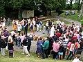 Picquigny inauguration coq (collégiale) 5.jpg