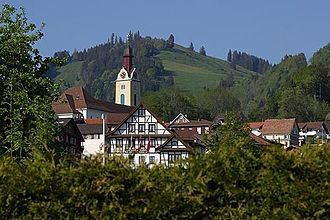 Sattel, Switzerland - Image: Picswiss SZ 20 19