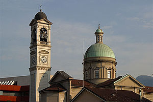 Chiasso - Church of San Vitale in Chiasso
