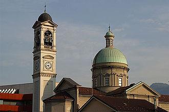 Chiasso - Church of San Vitale in Chiasso