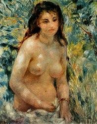 Pierre-Auguste Renoir: Torse, effet de soleil