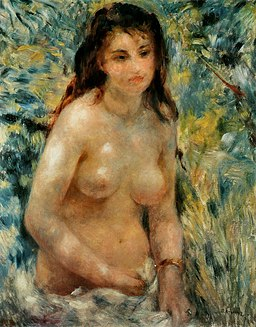 Pierre-Auguste Renoir - Torse, effet de soleil