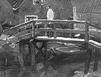 Piet Mondriaan - Footbridge in the Schinkelbuurt - A187 - Piet Mondrian, catalogue raisonné.jpg