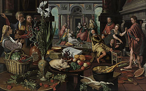 Pieter Aertsen - Christ in the House of Martha and Mary, 1553
