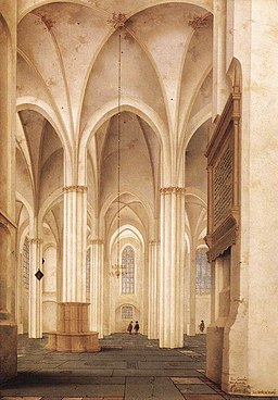 Pieter Jansz. Saenredam - The Buurkerk at Utrecht - WGA20631