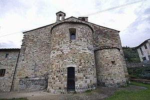 Calenzano - Pieve di San Severo, outside Calenzano.