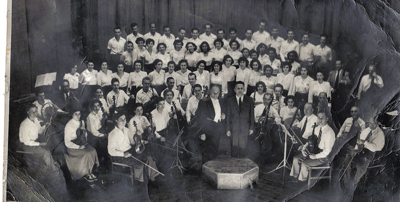 מקהלת פועלי תל אביב 1947