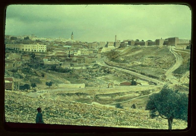 ירושלים מכיוון דרום