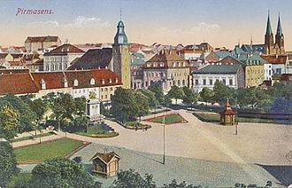 Pirmasens - Pirmasens in 1910.