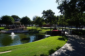 Plano, Texas - Haggard Park in October 2015