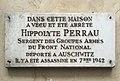 Plaque H.Perrau rue du Temple Paris.jpg