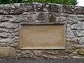 Plaque on Mouth Bridge, Berwickshire - geograph-3591947.jpg