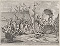 Plate 35- Philip of Spain as Neptune, riding in a chariot drawn by two sea horses; from Guillielmus Becanus's 'Serenissimi Principis Ferdinandi, Hispaniarum Infantis...' MET DP874787.jpg