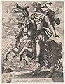 Plate 6- Emperor Nero on Horseback, from 'The First Twelve Roman Caesars', after Tempesta MET DP857124.jpg