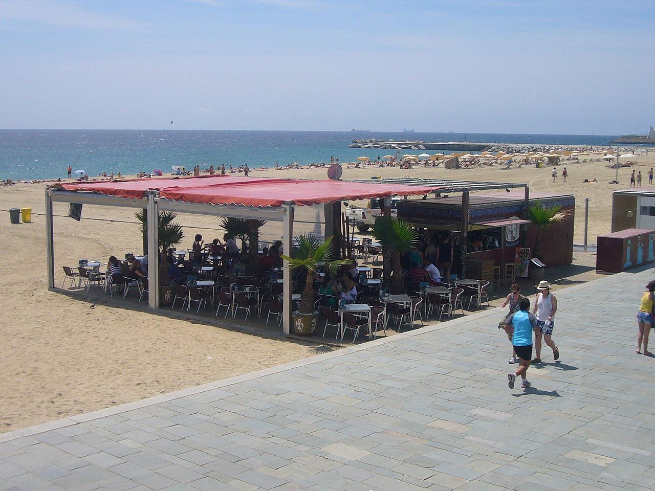 File:Platja del Bogatell (Barcelona) 03.JPG - Wikimedia Commons