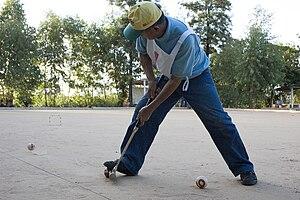 Gateball - Playing Gateball