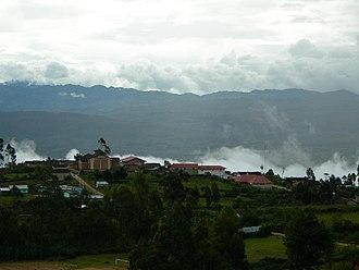 Chachapoyas, Peru - Huancas.