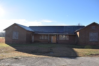 National Register of Historic Places listings in Hardeman County, Tennessee - Image: Pocahontas School Tennessee