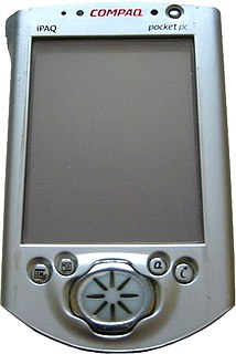 Pocket PC Obsolete type of computer, similar to smartphones