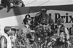 Podium at 1977 Dutch Grand Prix.jpg