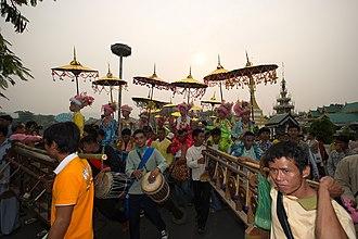 Poy Sang Long - Poy Sang Long in Mae Hong Son, northern Thailand