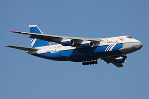 Polet Airlines An-124 RA-82075 in flight 28-Jul-2011.jpg
