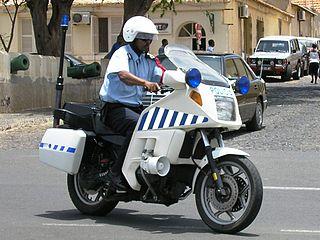 Law enforcement in Cape Verde