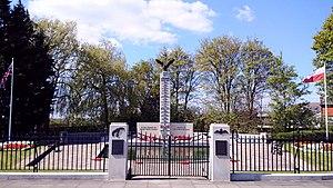 Polish War Memorial - Memorial after 2010 refurbishment