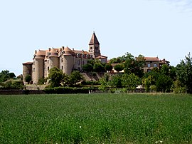 The priory in Pommiers