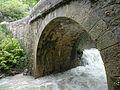 Pont des Andrieux, RD 753, sur le Riou de Jabron en crue (Entrepierres).JPG