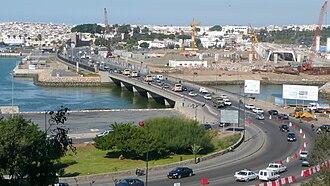 Timeline of Rabat - Image: Pont routier entre Rabat et Salé P1060408