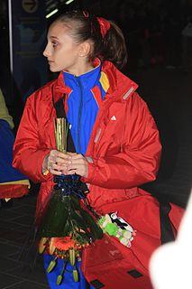 Ana Porgras Romanian artistic gymnast