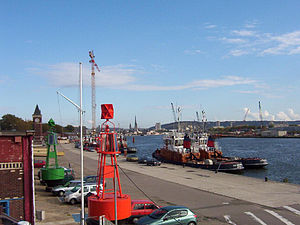 Maritime, Fluvial and Harbour Museum of Rouen - Image: Port de Rouen 2