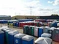 Portable toilets in Elliott Loohire depot - geograph.org.uk - 998507.jpg