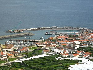 Vila Franca do Campo - The main port and marina in São Miguel