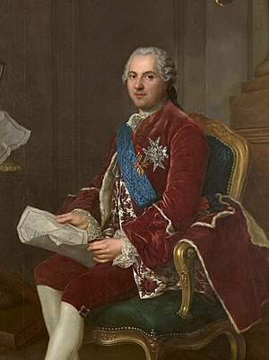 "Paul François de Quelen de la Vauguyon - The Dauphin, Louis, father of three kings, subject of La Vauguyon's book ""Portrait de feu monseigneur le Dauphin""."