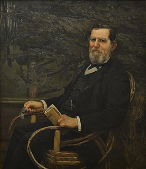 George Burnham - Portrait of George Burnham, by Cecilia Beaux