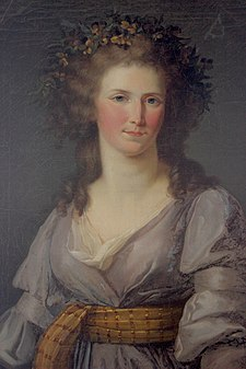 Portrait presumed to be Louise Marie Adélaïde de Bourbon by an unknown artist (Château de Bizy).jpg