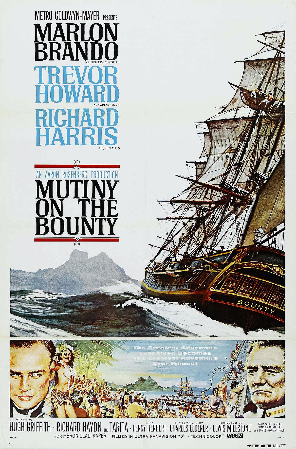 Mutiny on the Bounty (1962 film) - Wikipedia