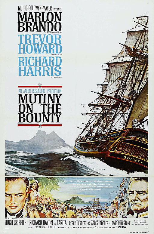 Poster for Mutiny on the Bounty