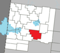 Poularies Quebec location diagram.png