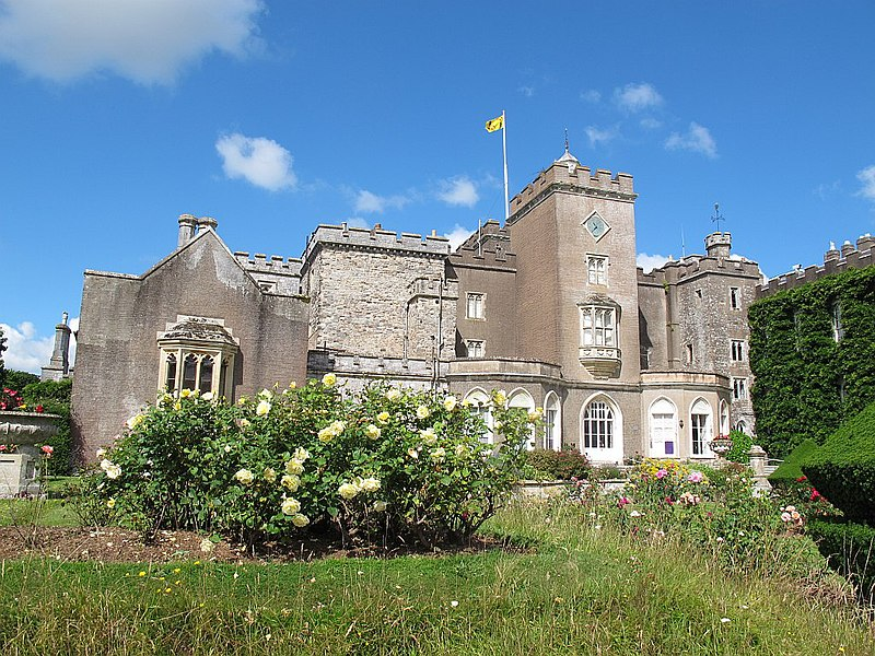 File:Powderham Castle, east side-geograph-4066229-by-Stephen-Craven.jpg