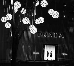 Culture of Italy - A Prada shop in Singapore.