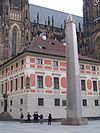 Prague Castle, Obelisk 2.JPG