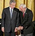 President George W. Bush and Arnold Palmer.jpg